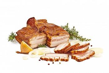 Údená slanina na opekanie