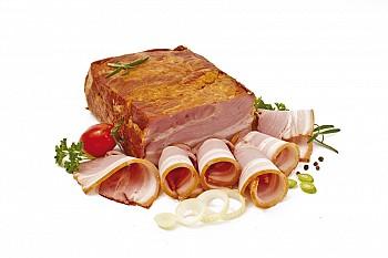 Oravská slanina lisovaná
